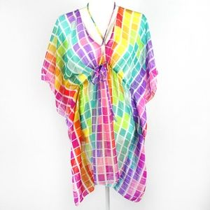 [ECHO] Rainbow Blocks Swim Coverup